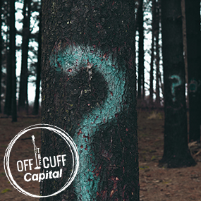 Off the Cuff - Question marks on trees