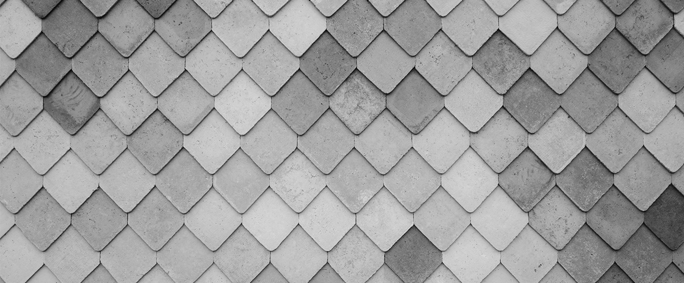 Black and white tile pattern image
