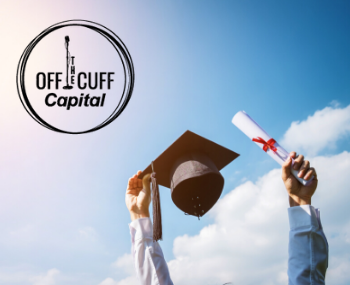 Off the Cuff Diploma and Graduation Cap